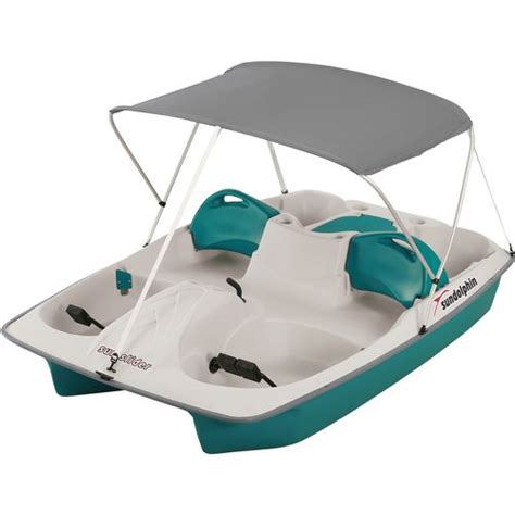 pedal boat academy sun dolphin sun slider 96 in pedal boat with canopy academy