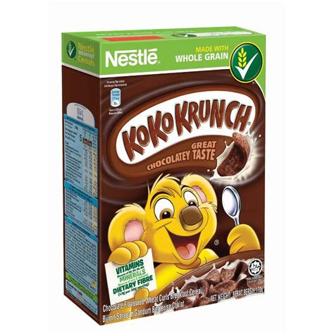 Koko Krunch Duo 330 Gram koko krunch milo honey creral 330g foc breakfast box