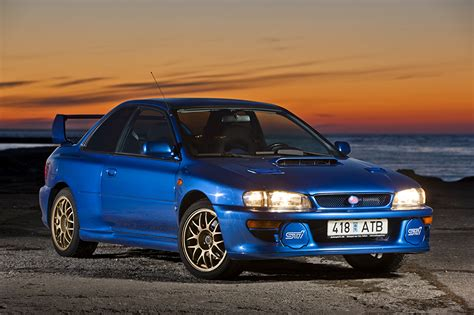 subaru 22b wallpaper photo subaru 1998 impreza 22b sti lhd gc8e2sd blue cars