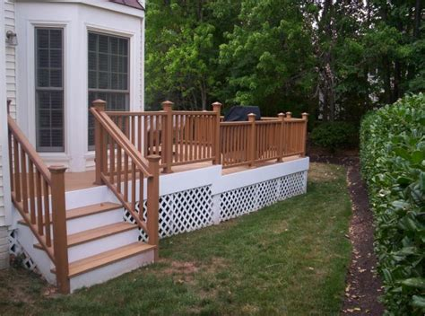 wooden terrace fence beautiful addition to every house