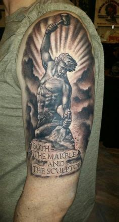 suffer city tattoo cannot remake himself without suffering for he is