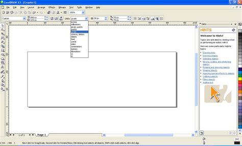 buat kartu nama pake corel draw gambar membuat header sesuai pas ukuran blog langkah