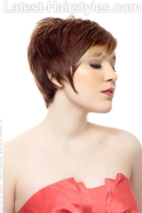 pixie hairstyle with longer sides pixie cut 11 year old hairstyle gallery