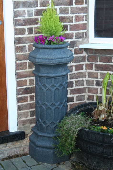 Chimney Planter by Chimney Pot Planters Column Garden Planter