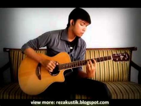 tutorial fingerstyle bunda sempurna andra the backbone acoustic guitar cover