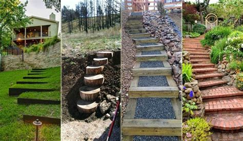 The Best 23 Diy Ideas To Make Garden Stairs And Steps Backyard Steps Ideas