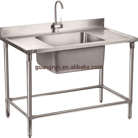 Restaurant Kitchen Sinks Catering Equipment Of Restaurant Used Free Standing Heavy Duty Commercial Stainless Steel