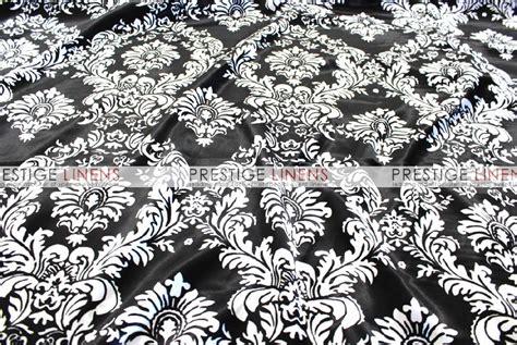 damask table linens damask print charmeuse table linen black white