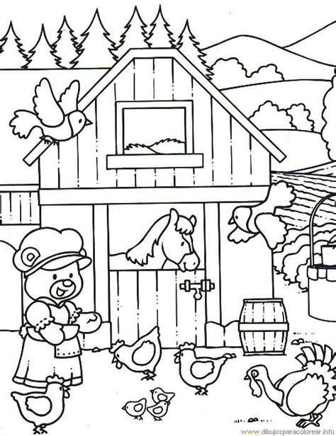 imagenes animales de la granja para colorear dibujos para colorear de granja de animales imagenes de