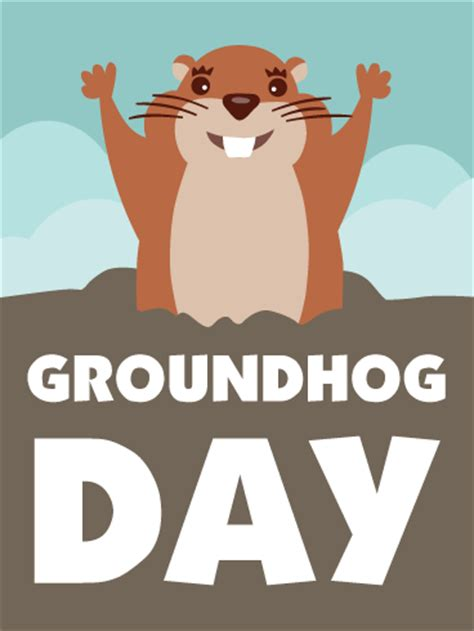 groundhog day cards cards birthday greeting cards by davia free