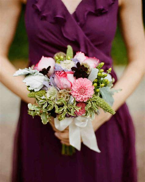 ideas   bridesmaids bouquets martha stewart