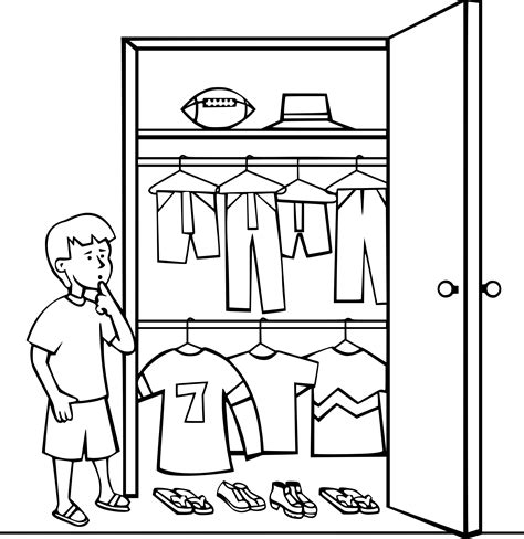 Closet Clip by Closet Clipart Closet Clipart Closet Black And White