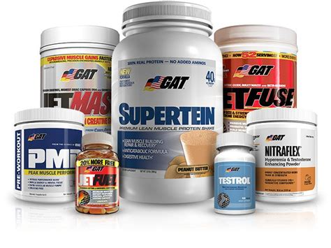 supplement company supplement company of the month gat