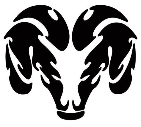 cartoon ram tattoo animal tribal art clipart best