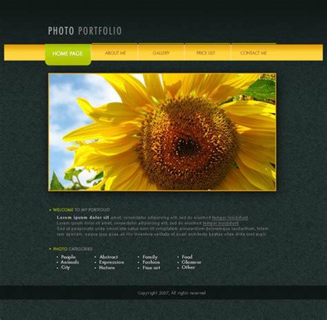 page layout design in photoshop photo portfolio web page layout photoshop tutorials