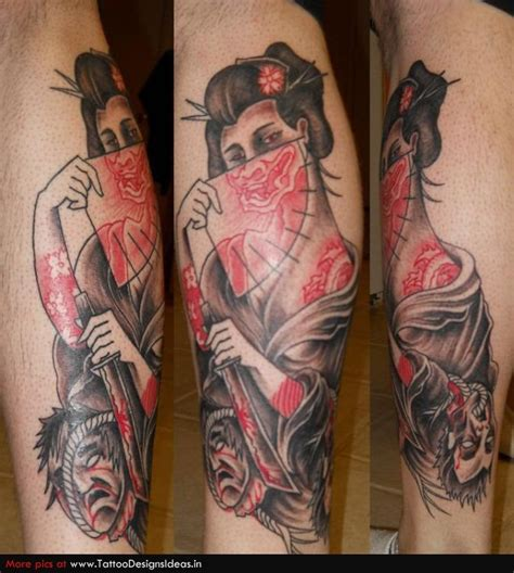 geisha china tattoo 50 japanische geisha tattoos