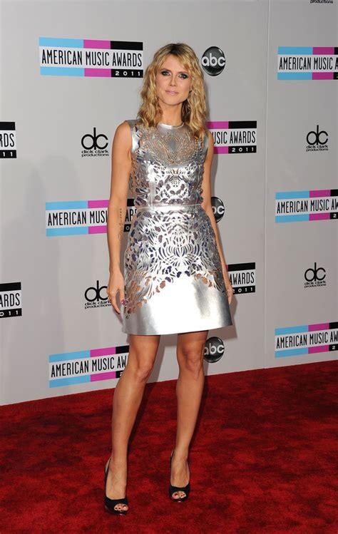 heidi klum see through dress pictures heidi klum wears a see through cutout dress at