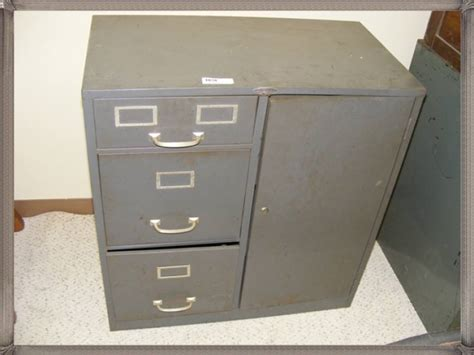 Cole Cabinet by Vintage Cole Steel Filing Cabinet
