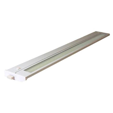 American Lighting 96012 White 28 Quot 18 Watt 3000k Hardwire American Fluorescent Cabinet Lighting