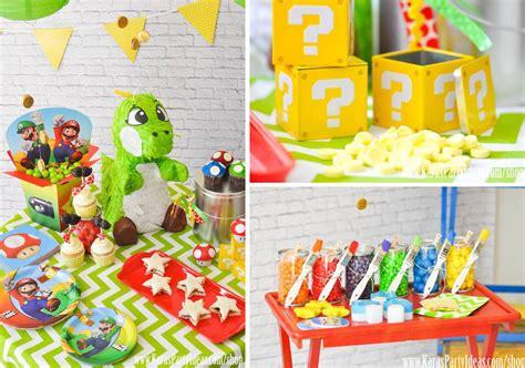 kara s ideas mario bros themed birthday