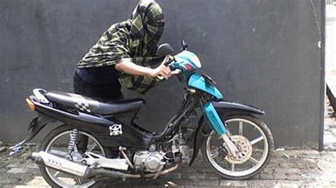 Kunci Momen Sepeda Motor gila dua bocah smp ini nekat maling motor 2018 harianindo