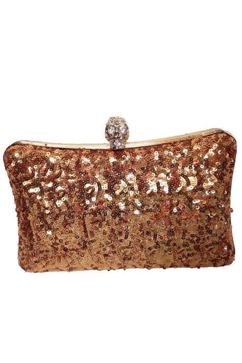 Shopping Magnes Gold Clutch by Gold Sequin Clutch From Las Vegas By Glam Squad Shop