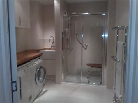 shower  utility area utility room designs wet rooms