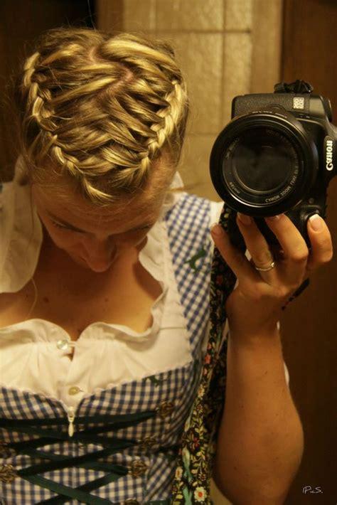 german braid hair how braided hair for classical quot dirndl quot hairible pinterest