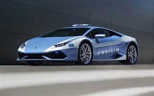 Polizia Lamborghini 2015 Lamborghini Huracan Lp610 4 Polizia Wallpaper Hd