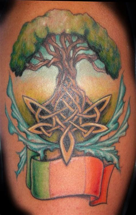 Celtic Tree Of Life Meaning Totem Talk Celtic Tree Tattoos Designs 3