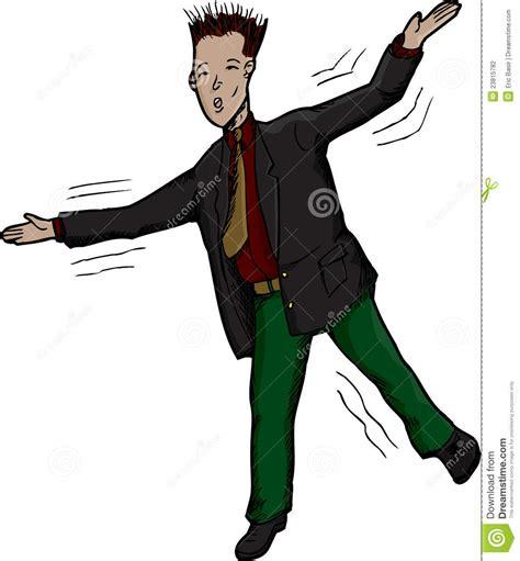 losing balance businessman losing balance stock photography image 23815782