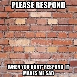 Brick Wall Meme - like talking to a brick wall meme generator