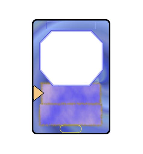 battle card templates card template battle by yu gi oh duelist on deviantart