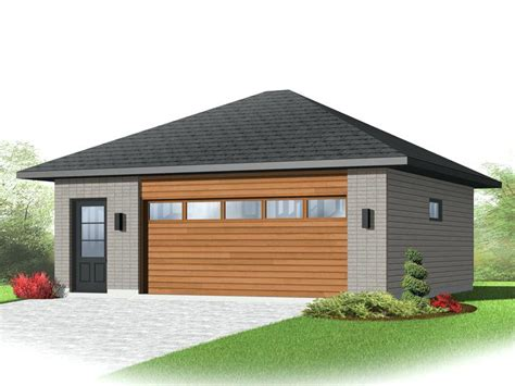 modern detached garage contemporary garage plan 67589 elevationcontemporary