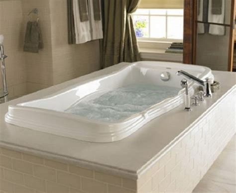 jacuzzi bathtub with shower creating a relaxing bathroom by installing jacuzzi tubs