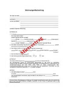 Muster Kündigung Mietvertrag Wohnung Kostenlos Mietvertrag Vordruck Mietvertrag Muster Holidays Oo