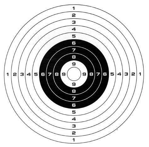 printable targets air rifle gamo paper targets 100 pack my favorite airsoft gun
