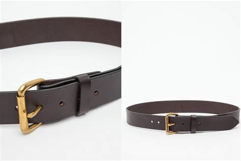 bridle leather belts five plus one