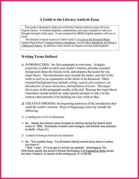 Evaluation Essay Format by Critical Analysis Exle Bio Letter Format