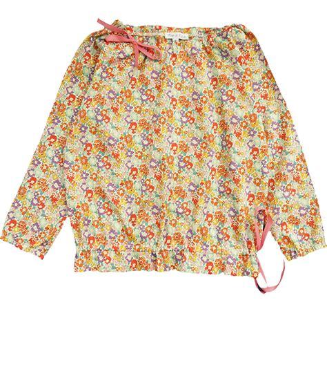 Leony Blouse puce 来自巴黎的儿童时装品牌 l 233 onie blouse