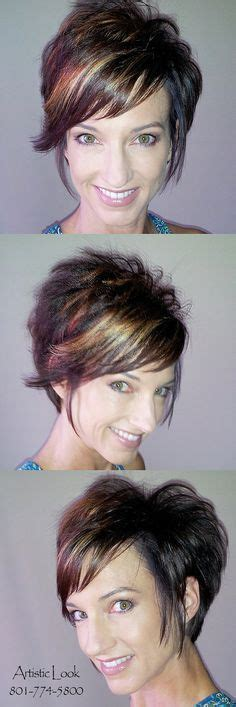 haircuts spiked in back line ng bangs pictures of spiked haircuts for women spiked back long