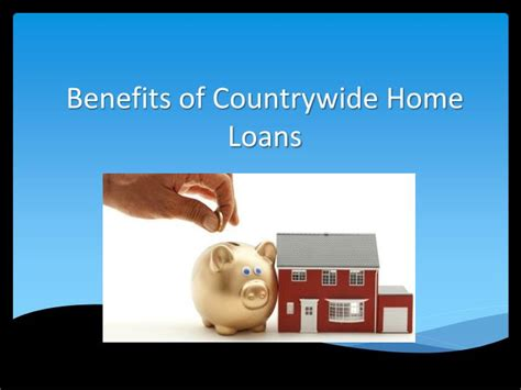 ppt benefits of countrywide home loans powerpoint