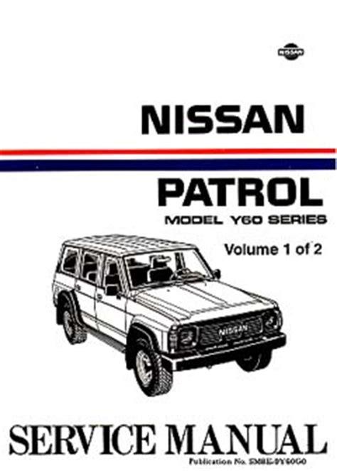 nissan patrol service repair manual download pdf autos post nissan patrol gq y60 series 1987 1994 tb42 td42 workshop service manual cdrom