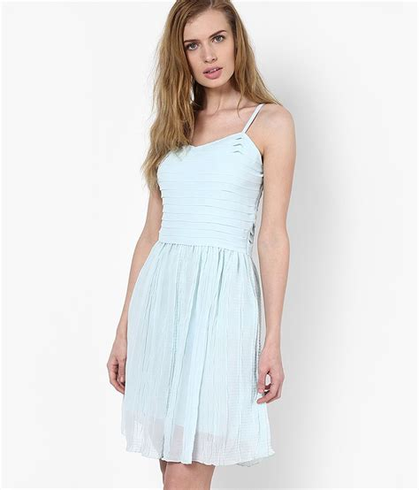 Casual Light Blue Dress by Buy Vero Moda Light Blue Casual Skater Dress At