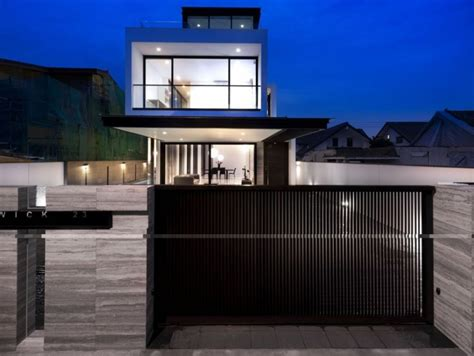 design of fences for houses minimalist house fence with modern design artdreamshome