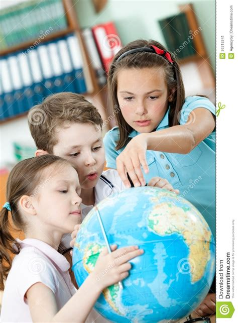 Helping Find Classmates Help To Each Other To Find Something Stock Image Image 26219241