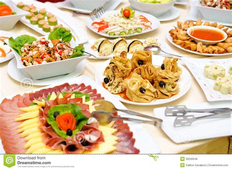 table with delicious food royalty free stock image image