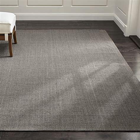 gray sisal rug sisal grey rug crate and barrel