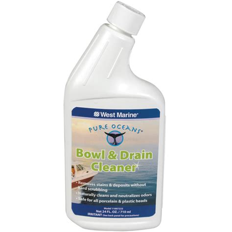 boat drain cleaner pure oceans bowl drain cleaner west marine