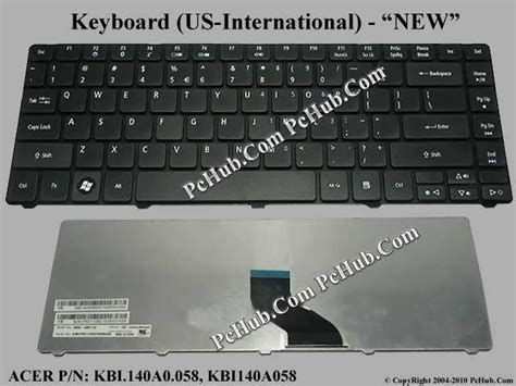Keyboard Acer 4736z acer aspire 4736z series keyboard kbi 140a0 058